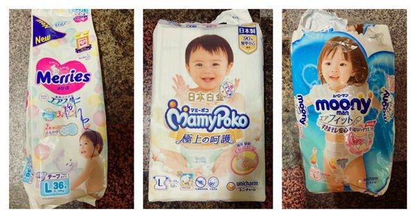 新手爸媽怎麼選尿布?優質尿布大評比!|妙而舒、滿意寶寶、Moony