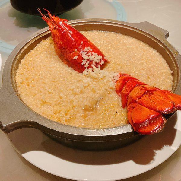 台南餐廳推薦|晶英軒|龍蝦海鮮湯泡飯 & 明火掛爐櫻桃鴨2吃|晶英酒店Silks Place Tainan