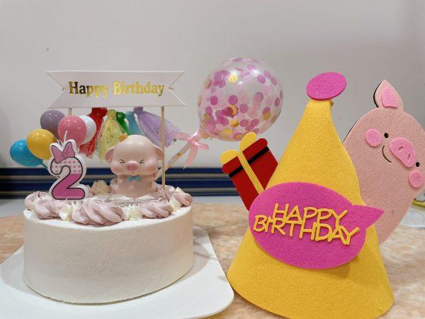 寶寶蛋糕宅配推薦,寶寶派對/生日必備!成分超天然的寶寶生日蛋糕,元寶吃的超開心啊!|卡瓦蛋糕Kawacake