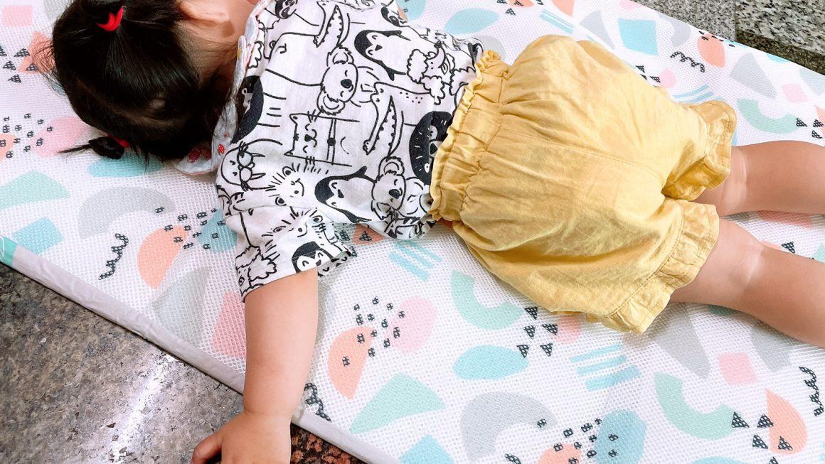 育兒好物推薦|3D幼童午睡墊床墊,大推透氣排汗,可水洗又快快乾|舒福家居