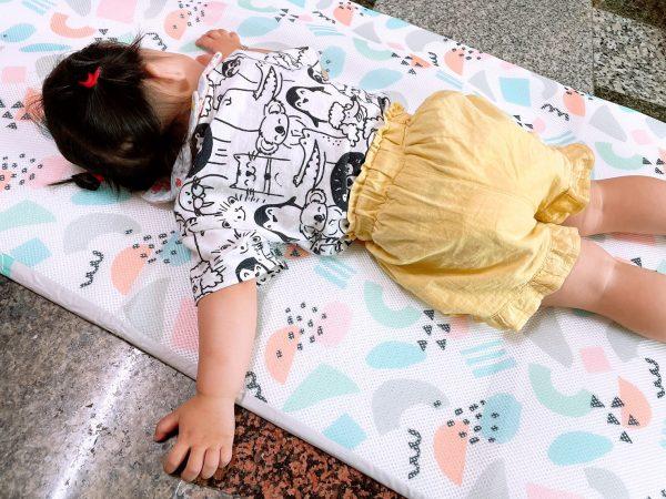 育兒好物推薦|3D幼童午睡床墊,大推透氣排汗,可水洗又快快乾,重點還抗菌防螨!|舒福家居|嬰兒床墊