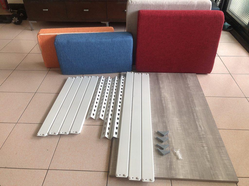 沙發推薦,辦公與久坐的最佳夥伴,軟硬適中又能輕鬆組裝 【空間特工】角鋼單人沙發