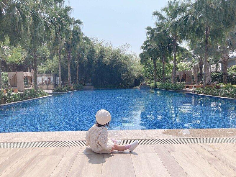 花蓮住宿推薦,香草花園、泳池、酒吧一次享有,極上的度假感 秧悅美地度假飯店